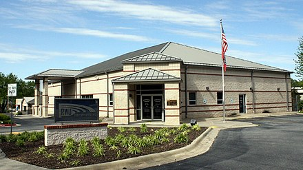 Rogers Water Utilities administration office Rogers Water Utilities in Rogers, Arkansas.jpg
