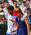 Roland Garros 20140531 Jonathan Eysseric & Alize Cornet.jpg