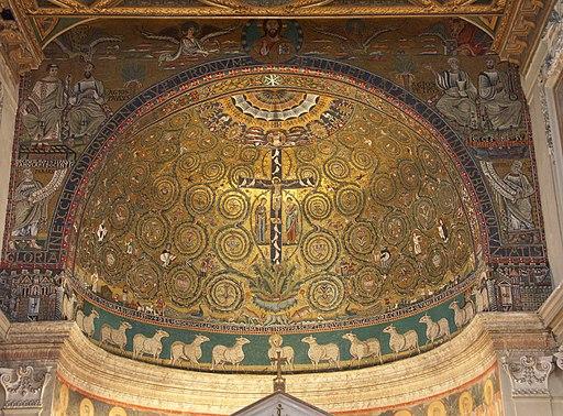 Rom, Basilika San Clemente, Apsis 1