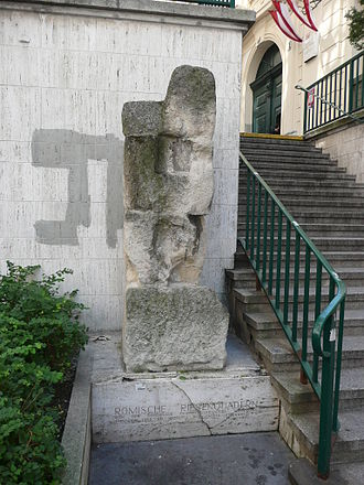 Vindobona - Roman stones from the thermae, at Sterngasse