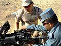 Romanian Gendarmerie provide heavy weapons knowledge to Afghan National Police (6301323002).jpg
