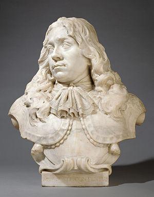 Rombout Verhulst - Bust of Jacob van Reygersbergh (Latin inscription: Mea Sorte Contentus).