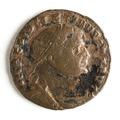 Romerskt mynt med kejsar Diocletianus, 293-295 - Skoklosters slott - 110720.tif