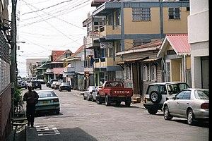 Street scene in Roseau