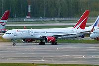VQ-BTN - B752 - Royal Flight