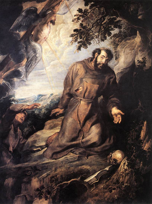 Rubens, Peter Paul - St Francis of Assisi Receiving the Stigmata - c. 1630.PNG