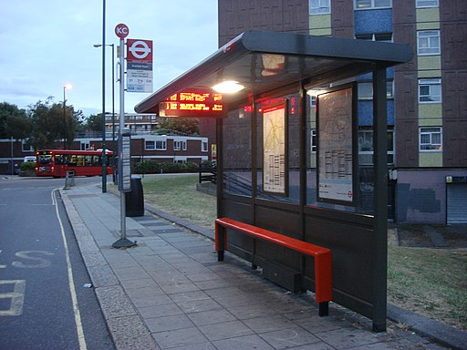 Rudolph Road bus stop KC 023