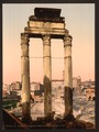 Ruins of Temple of Castor and Pollux, Rome, Italy-LCCN2001700949.tif