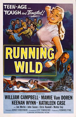Running Wild (1955 film) - Image: Runningwild 1955