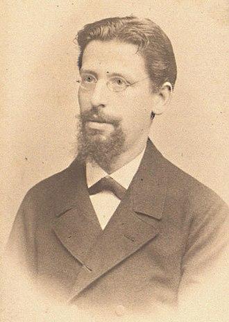 Adolf Weil (physician) - Adolf Weil in 1886