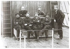 Russian polar expedition of 1900–02 - Members of the expedition on Zarya