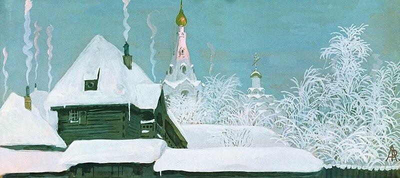 800px-Ryabushkin_-_Winter_morning._1903.