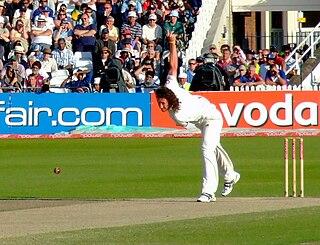 Ryan Sidebottom Cricket player of England.