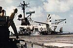 S-2D Tracker of VS-35 lands on USS Hornet (CVS-12) c1965.jpg