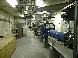 Canadian Light Source - The SAL LINAC, seen at the CLS in 2011