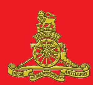 Transvaal Horse Artillery - SANDF Transvaal Horse Artillery emblem