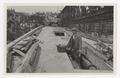 SBB Historic - 110 153 - Luzern, Neubau Strassenbrücke Langensand, Baustelle, erster Brückenstreifen, Arbeiter.tif