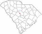 Location in Lexington County, South Carolina