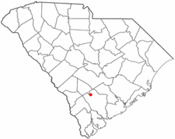 Location of Williams, South Carolina
