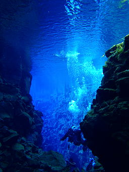 SCUBA Silfra, diving destinations