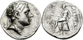 Molon - Coinage of Antiochos III, Susa mint, during his second reign at Susa (220-187 BC), after the revolt of Molon.