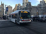 SEPTA bus 3061 at JFK Boulevard and 15th Street.jpeg