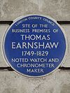 SITE OF THE BUSINESS PREMISES OF THOMAS EARNSHAW 1749-1829 NOTED WATCH AND CHRONOMETER MAKER.jpg