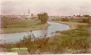 Cooks River - View of the Cooks River at Campsie