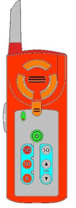 Survival craft station - Survival craft station VHF