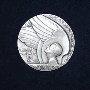 Society of Medalists - Society of Medalists Issue 29, Inspiration Aspiration, by Richard Recchia. 1944 silver
