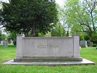 William Southam - Southam family memorial, Hamilton Cemetery, Hamilton, Ontario.