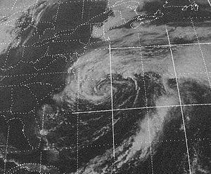 Tropical Storm Gilda (1973) - Gilda as a subtropical storm near the United States