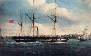 SS <i>Royal William</i> ship