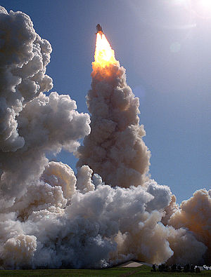STS-52 - Liftoff