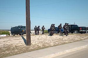 SWAT - DoD SWAT officers responding to the 2009 Fort Hood shooting in Texas.