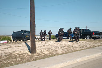 SWAT - DoD SWAT officers responding to the 2009 Fort Hood shooting in Texas.