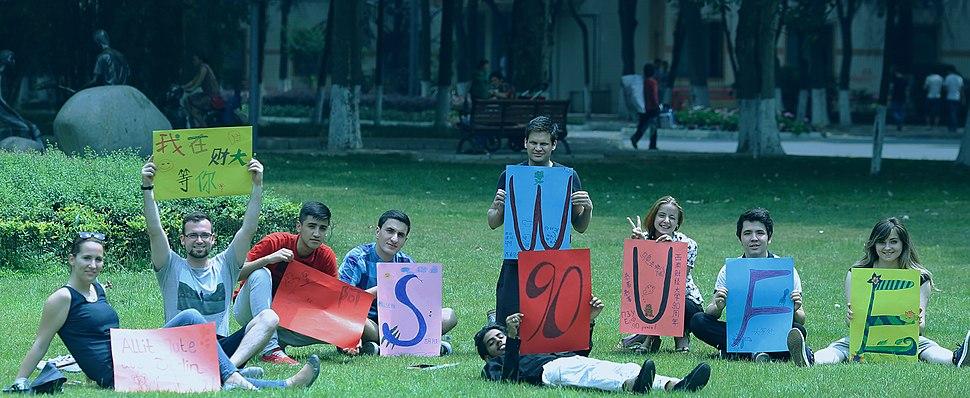 SWUFE international students
