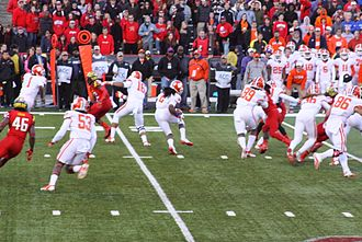 Sammy Watkins (American football) - Watkins returns a kickoff during a 2013 game against the Maryland Terrapins