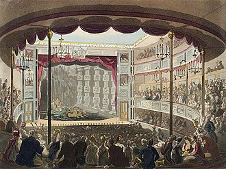 Charles Dibdin the younger - The Sadler's Wells Theatre in 1809
