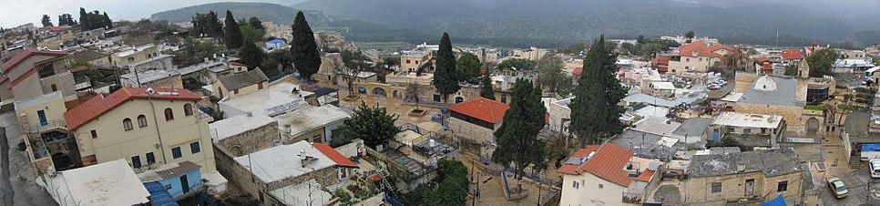 Safed Artists Quarter Panorama