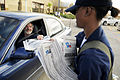 Sailors distribute basic needs during food convoy in Galveston DVIDS117370.jpg