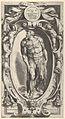 Saint John the Baptist in a decorative border, after Michelangelo's 'The Last Judgment' fresco in the Sistine Chapel MET DP836950.jpg