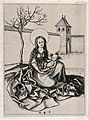 Saint Mary (the Blessed Virgin) with the Christ Child. Engra Wellcome V0033797.jpg