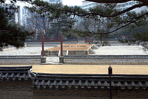 Sajikdan - Image: Sajikdan Shrine in Seoul, Korea 02