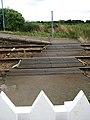 Salhouse railway station - level crossing - geograph.org.uk - 918378.jpg