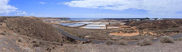 Salinas de Janubio, municipality of Yaiza, Lanzarote, Canary Islands, Spain