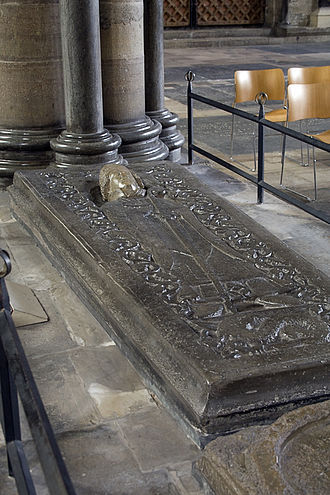 Roger of Salisbury - Tomb in Salisbury Cathedral, traditionally held to be Roger's