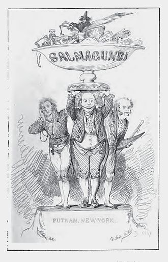 Salmagundi (periodical) - From an 1869 reprint