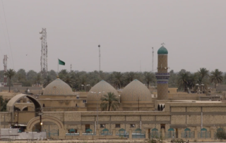 Mosque located in the village of Salman Pak, Iraq