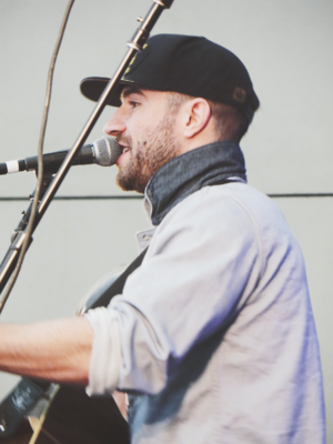 Sam Hunt - Hunt performing at C2C Festival in London's O2 Arena, 2015